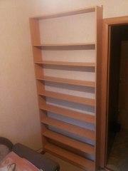 полки книжные на стену от пола до потолка