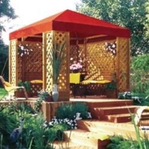 Беседки,  садовая мебель,  заборы (ангарская лиственница) из Омска