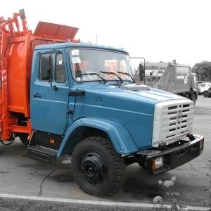 ЗИЛ мусоровоз КО-440-4Д