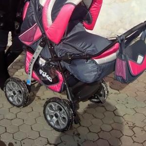 Польская коляска-трансформер 3 в 1 зима-лето